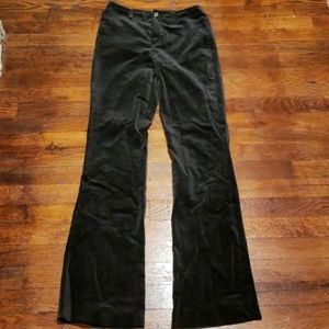 Ralph Lauren Velvet Black Pants